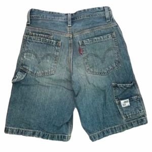 3/$30 Boys Levi's jean shorts carpenter style 10